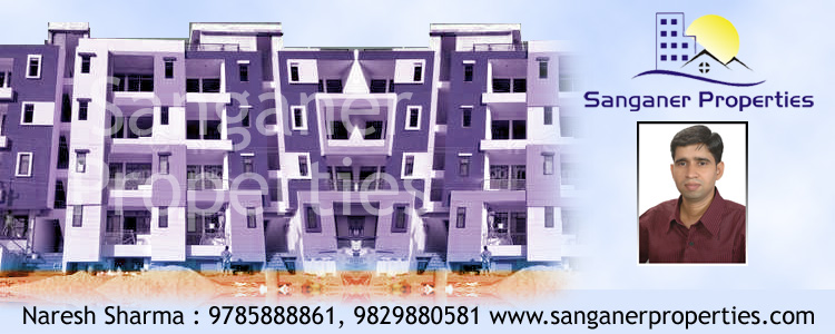 2 BHK Luxury Flat For Sale At Circle Near Stadium In Sanganer, Jaipur