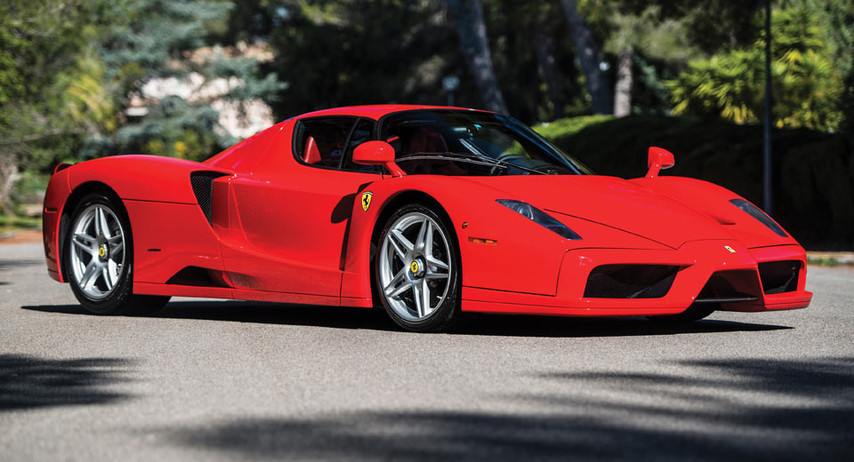 Unique Rosso Scuderia Ferrari Enzo To Be Auctioned In May