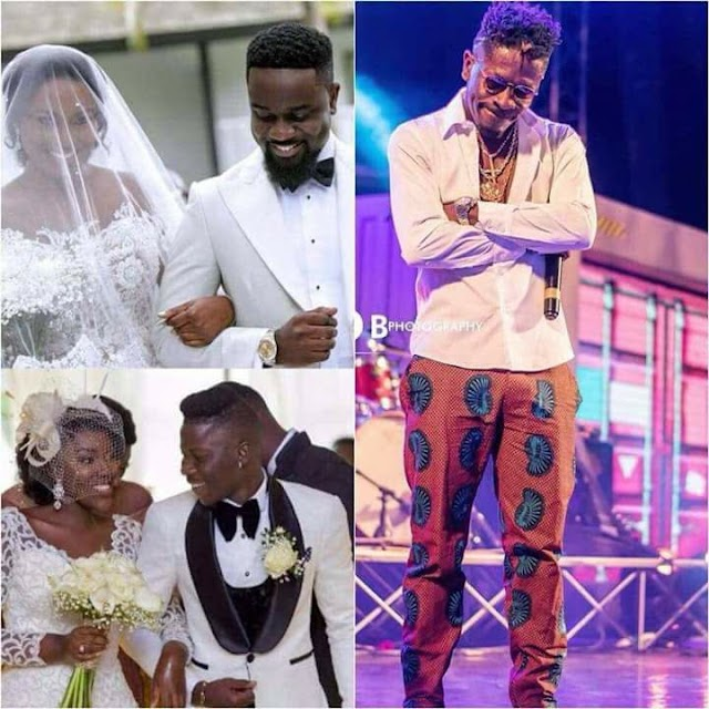Showbiz: NewsShatta Wale replies fan who asked if he'll not marry like Stonebwoy and Sarkodie (screenshot)
