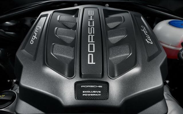2017 Porsche Macan Turbo Engine
