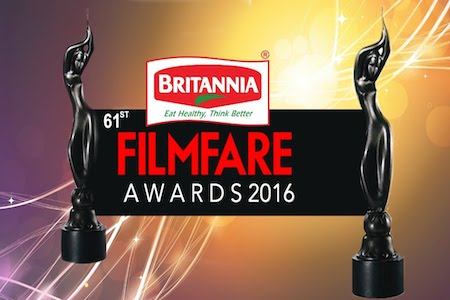 61st Filmfare Awards 2016 Main Event