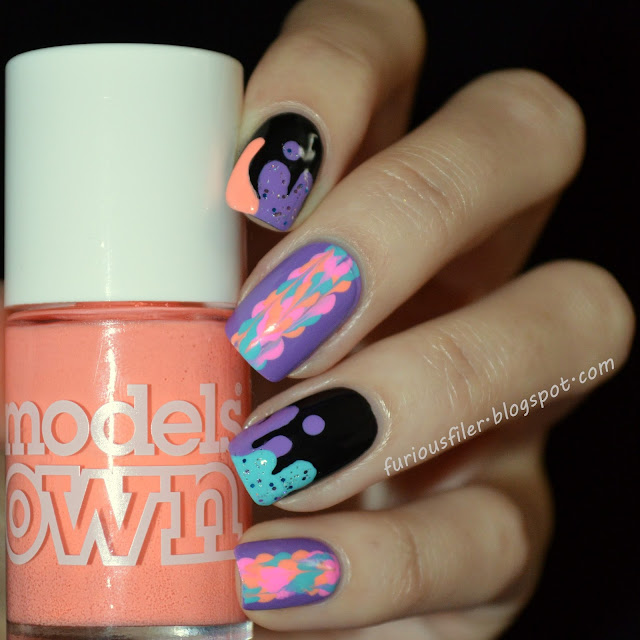 #31dc2015 #1234thumbwar paint drips drag marble