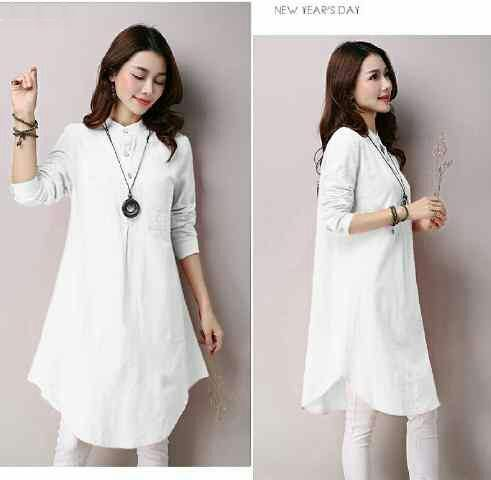 Jual Tunik White Dress Lovaya - 12883