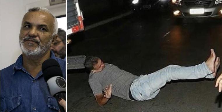 Ex-vereador Maninho do PT empurrou empresário contra um caminhão