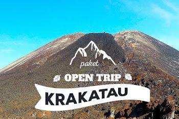 paket wisata open trip gunung anak krakatau