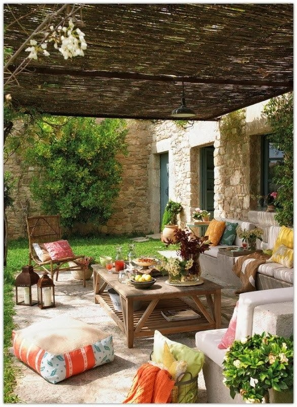 My 10 Favorite Bohemian Patio Ideas. | The House of Boho on Bohemian Patio Ideas id=51267
