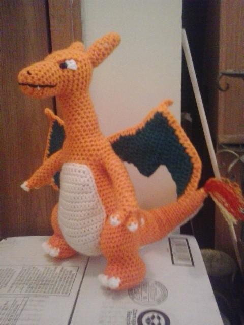 Crochet Patterns Galore - Mega Charizard Y (Pokemon) | 640x480
