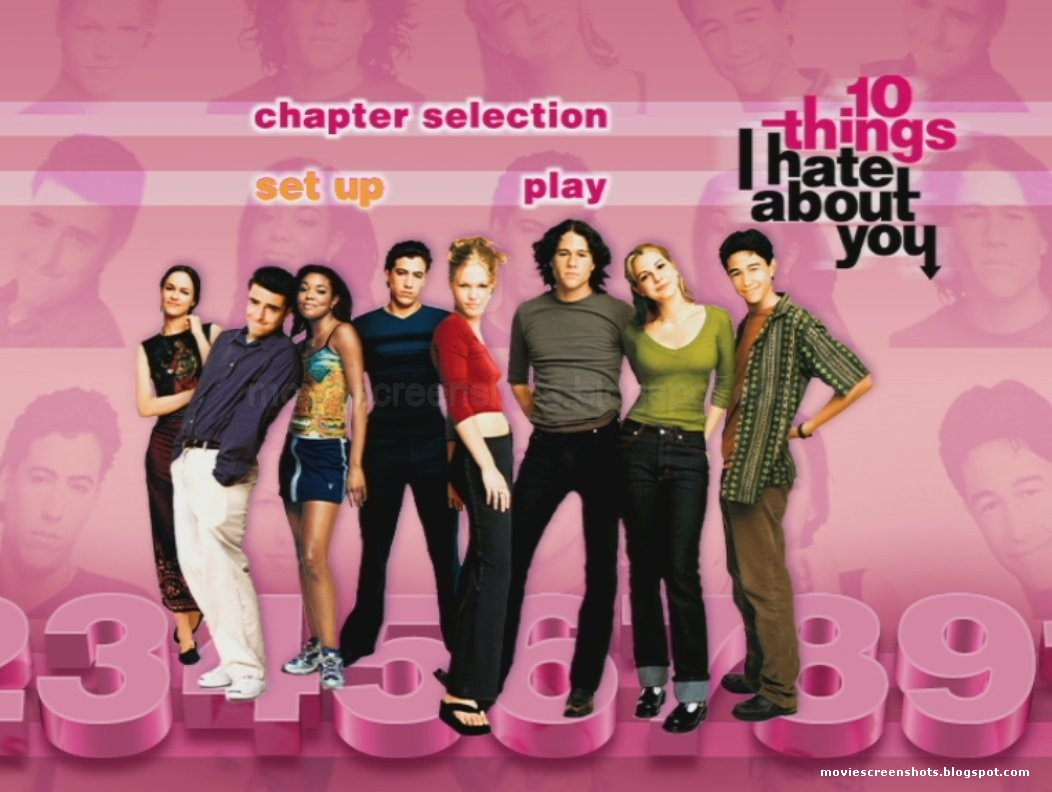 10 Things I Hate About You Movie Poster: Vagebond's Movie ScreenShots: 10 Things I Hate About You