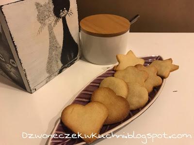 Ciasteczka maślane - najprostszy przepis