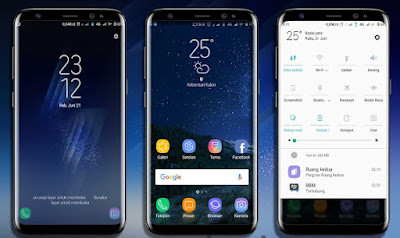 Download Tema Samsung Galaxy S9+ mtz Untuk Xiaomi Terbaru dan terbaik