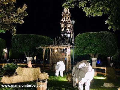 Artisan Nativity in Morelia at Plaza de Armas