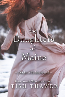 The Daughters of Maine, Tish Thawer, Witches of Blackbrook, book review, On My Kindle Book Reviews