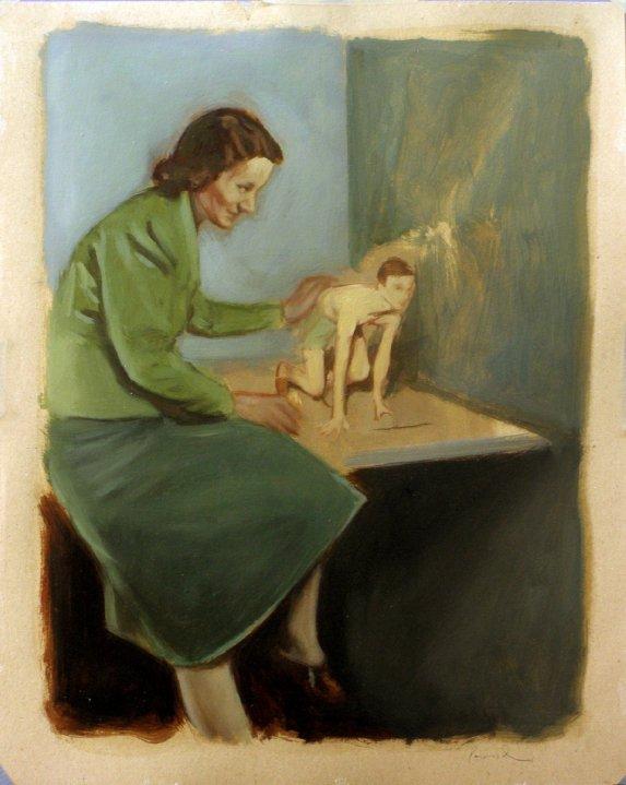 e2f3fff55 Foi premiado com o Prémio Thomas de Mello, Nazaré, 3º Prémio Nacional de  Pintura da Fundação Rotária Portuguesa. Está representado em alguns espaços  ...