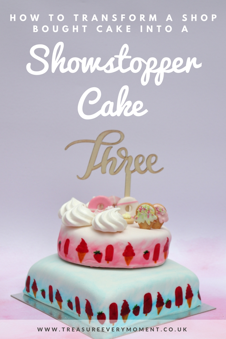 HOW TO: Transform a Shop Bought Cake into a Showstopper for a Birthday or Wedding