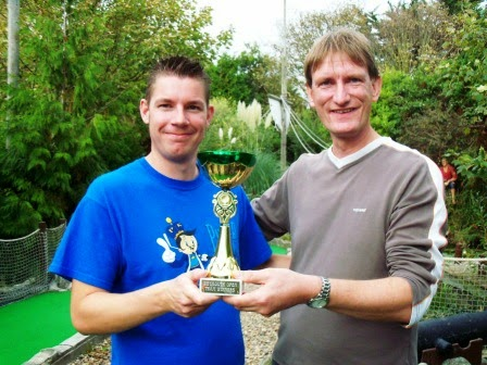 Weymouth Minigolf Open Team Tournament Champions - Richard Gottfried & Chris Harding