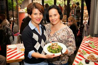 Λένια και Δήμητρα στο TGI Friday's Food Contest Living well