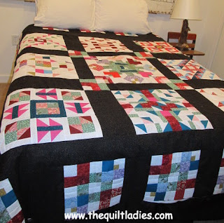 Applique into Patchwork quilt pattern eBook