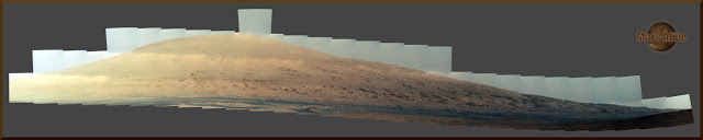 Sol 45 Curiosity Right Mastcam (M-100) Journey to Glenelg