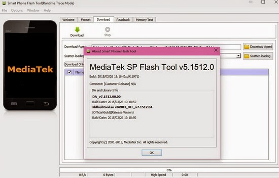 mediatek sp flash tool v 5.1512.0 rar