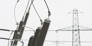 Une ligne électrique haute tension