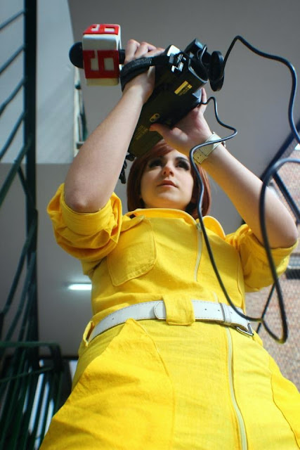 Cosplay April O'Neil, chicas disfrazadas de la reportera de las Tortugas Ninja 7