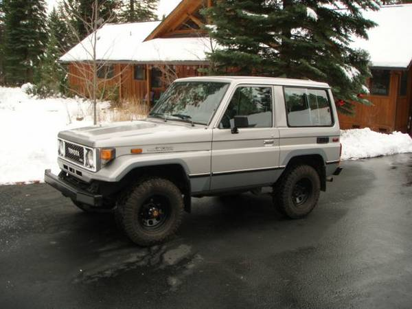 1987 Toyota Land Cruiser BJ70 For Sale