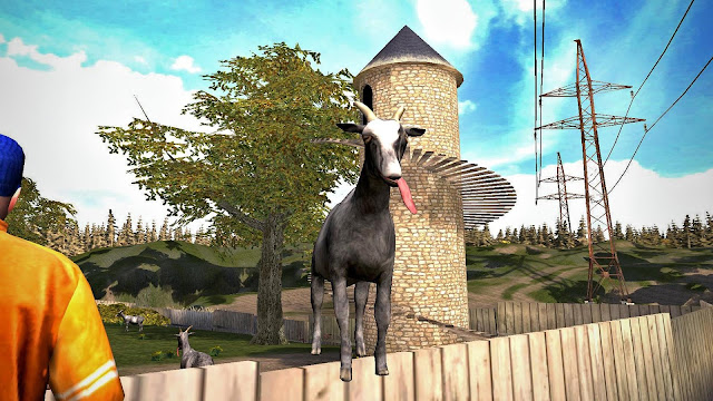 Download Goat Simulator Mod Apk DATA 1.4.17 Update Terbaru