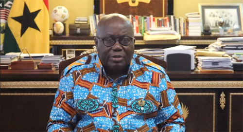 Akufo-Addo's Christmas and New Year message (VIDEO)