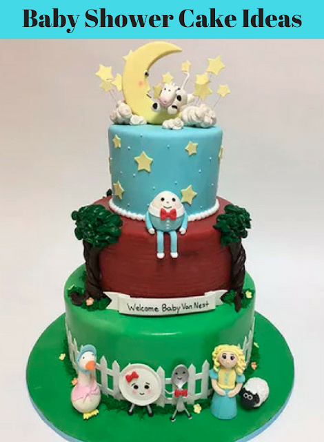 Rosa For Life Baby Shower Cake Ideas