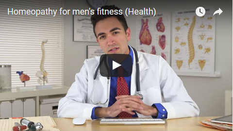 Homeopathy for male fitness