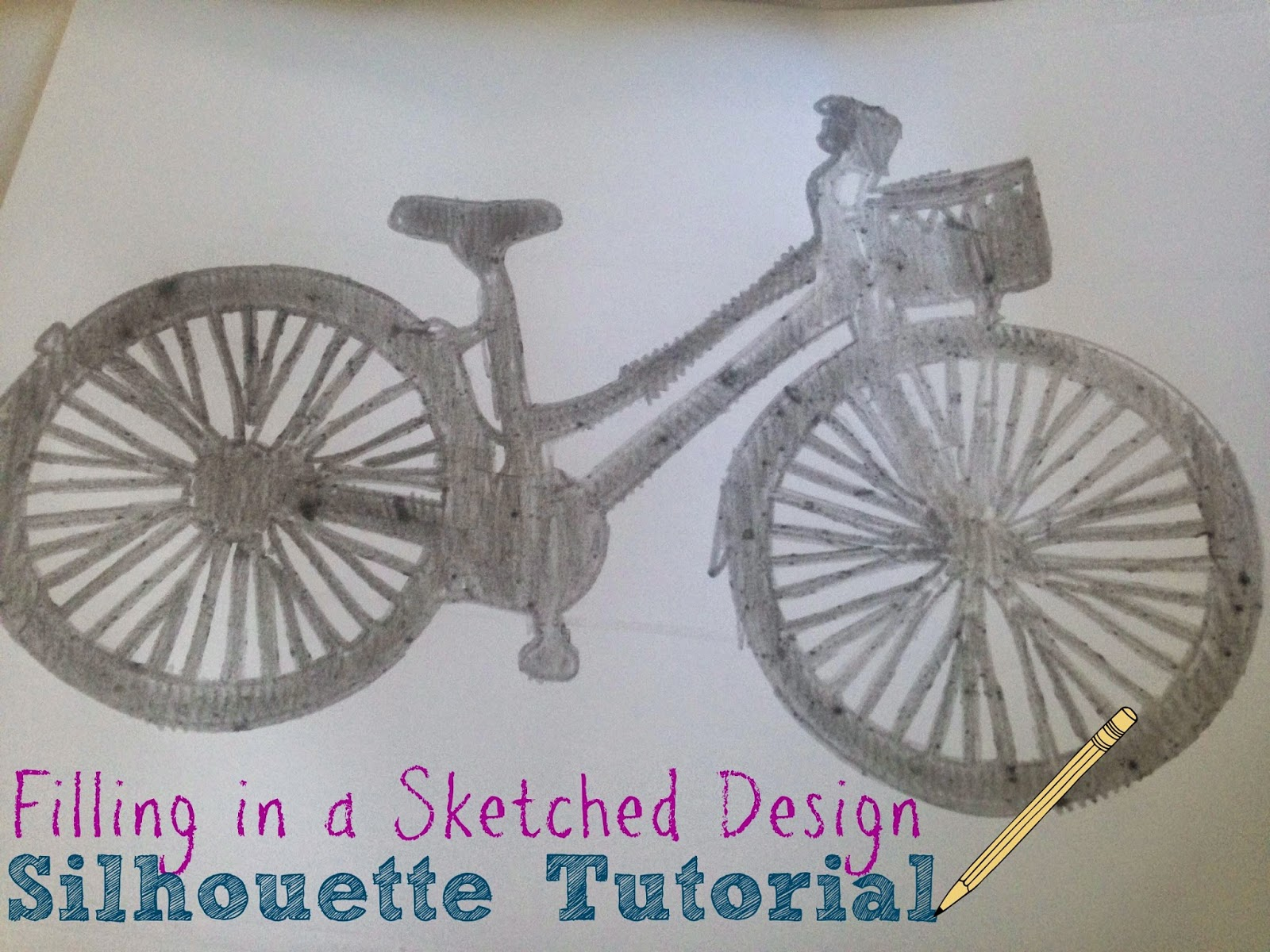 Silhouette sketch pens, Silhouette tutorial, filling in, Silhouette Studio