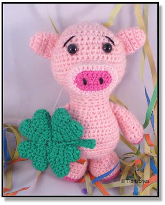 Glücksschwein häkeln