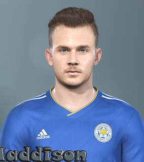 PES 2019 Faces James Maddison by Prince Hamiz