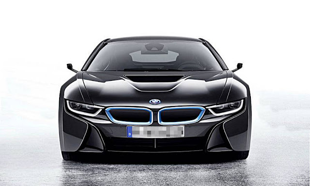 2016 BMW i8 Mirrorless Concept