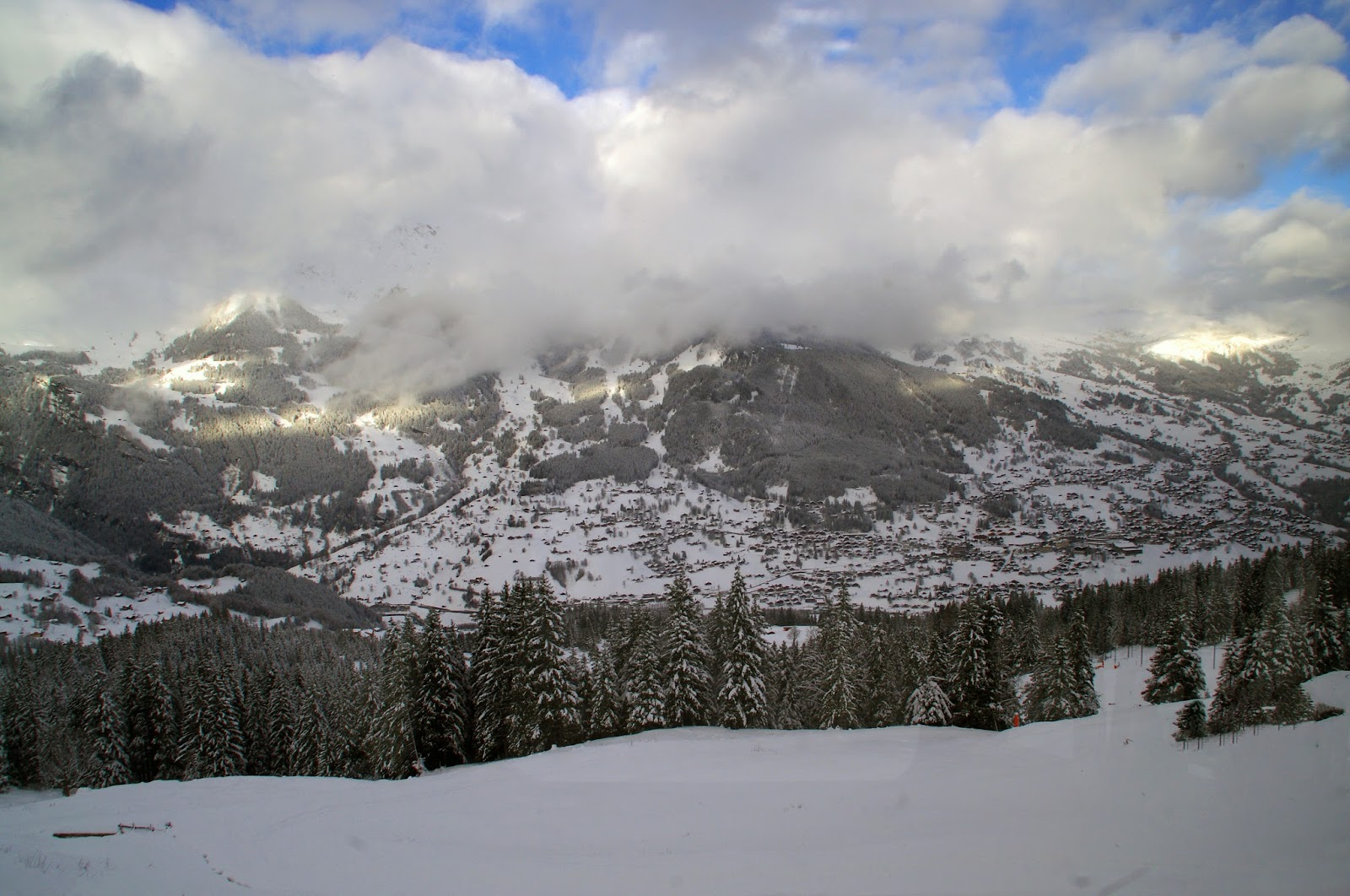 Jungfraujoch Train Views