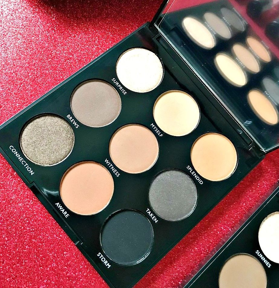 Morphe 9a palette Review