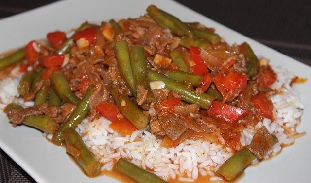 Lebanese Lamb & Green Bean Stew