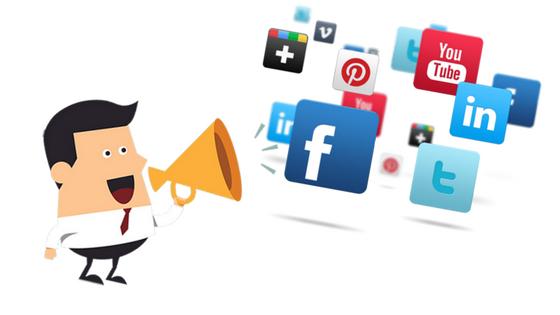 promote blog social media