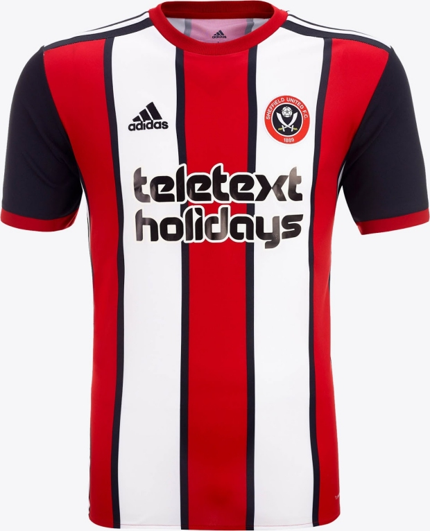 ee075216f1 Adidas divulga as novas camisas do Sheffield United - Show de Camisas