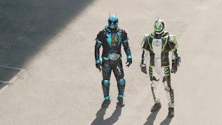 Kamen Riders Specter & Necrom
