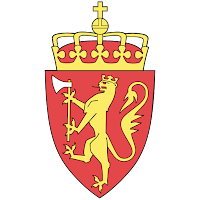 Logo Gambar Lambang Simbol Negara Norwegia PNG JPG ukuran 200 px