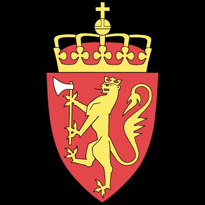 Coat of arms - Flags - Emblem - Logo Gambar Lambang, Simbol, Bendera Negara Norwegia