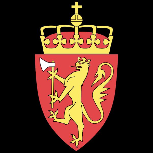 Logo Gambar Lambang Simbol Negara Norwegia PNG JPG ukuran 600 px