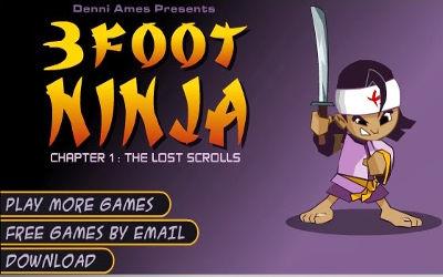 3 Foot Ninja - Jeu d'Action sur PC