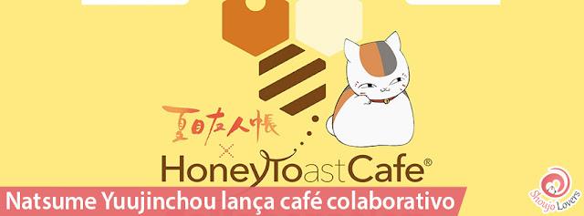 Natsume Yuujinchou lança café colaborativo