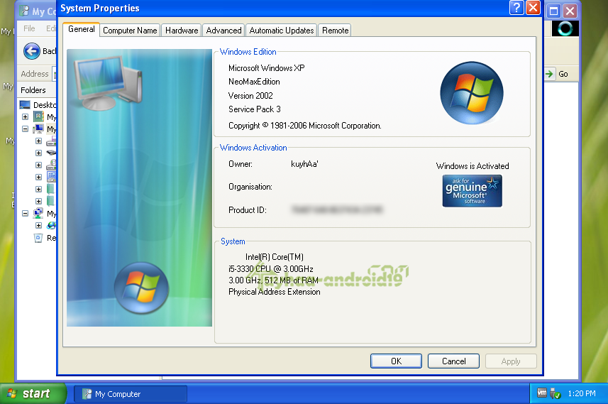 Windows XP SP3 (x32) NeoMAX Edition 2016