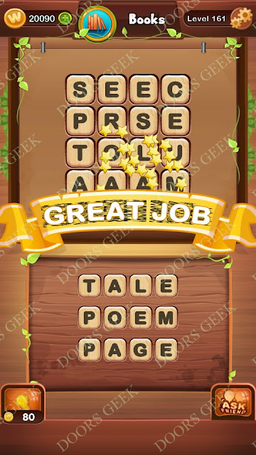 Word Bright Level 161 Answers, Cheats, Solutions, Walkthrough for android, iphone, ipad and ipod