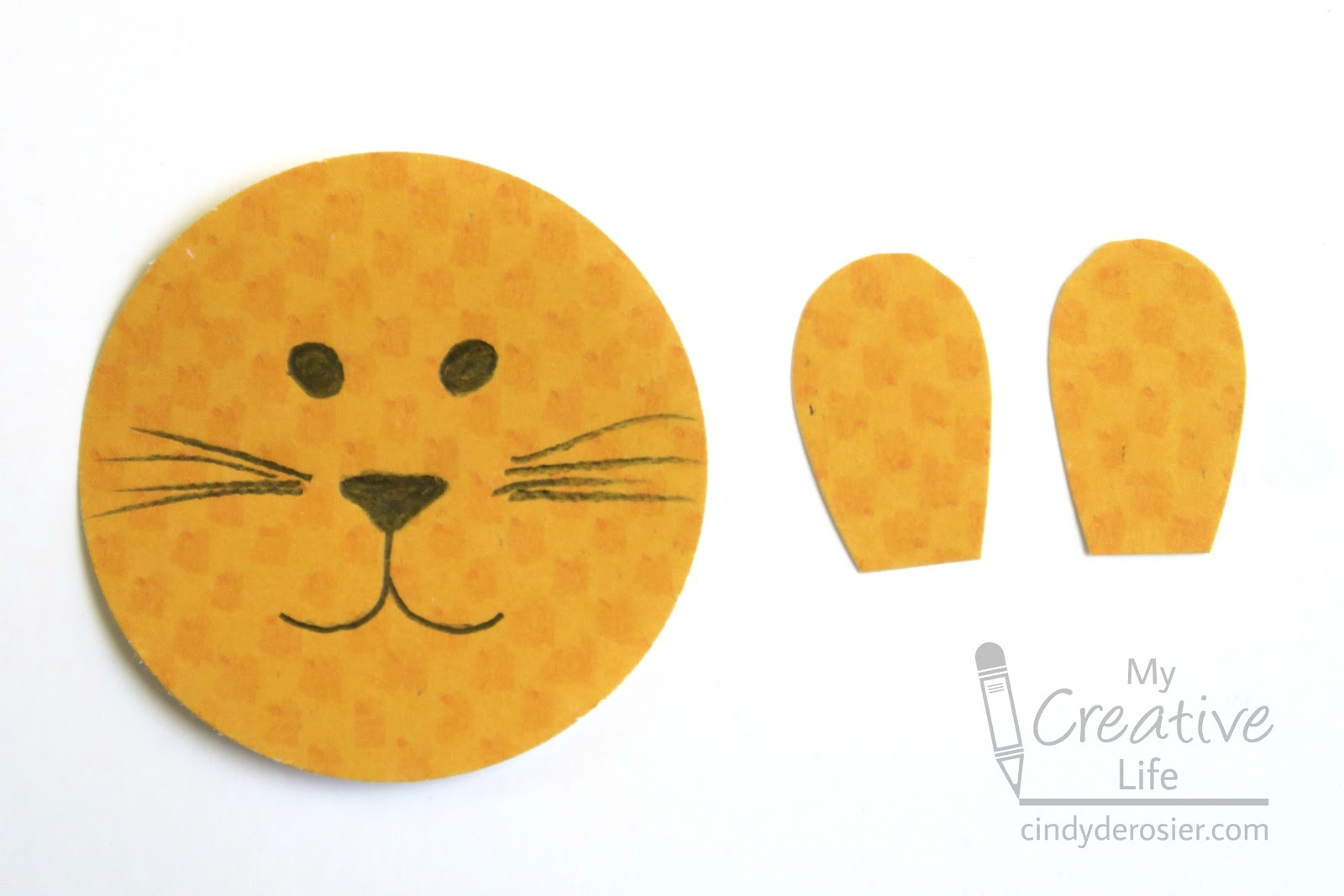 Cindy Derosier My Creative Life Cardboard Tube Lion