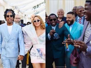 JayZ, Beyonce, Diddy, DJ Khaled
