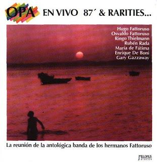 OPA - 1987 - En Vivo 87' & Rarities